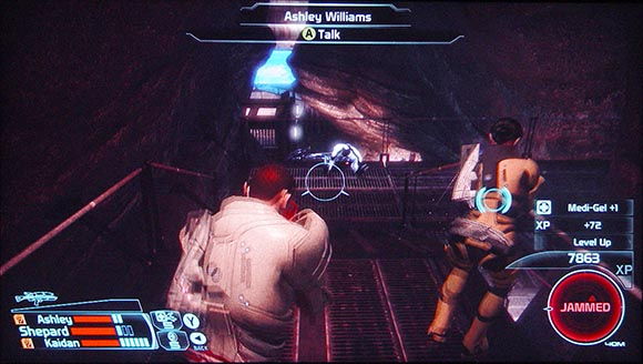 Mass Effect HUD