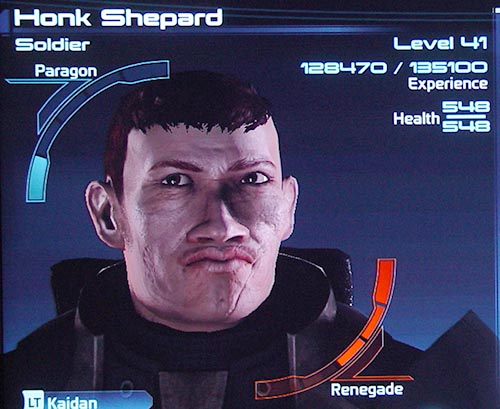 Mass Effect Stats Close-up