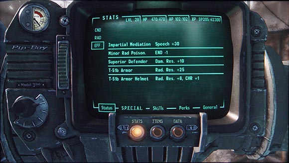 Fallout 3 Negative Effects