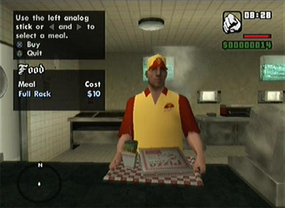 San Andreas Fast Food