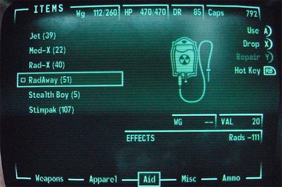 Fallout 3 Stimpacks