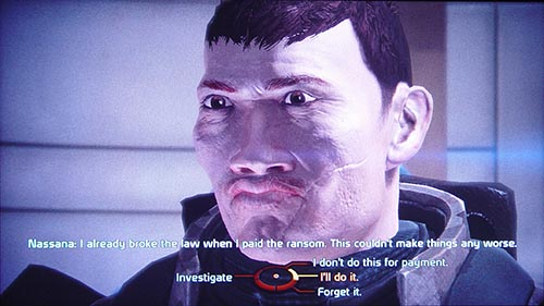 Mass Effect Conversation
