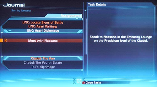 Mass Effect Journal