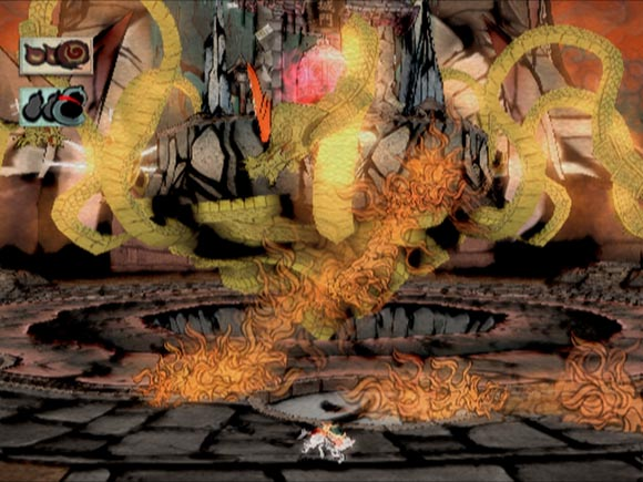 Okami Blurry Screenshot