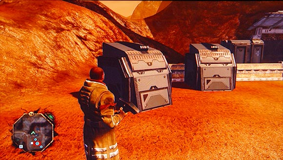 Red Faction: Guerrilla Supply Crates