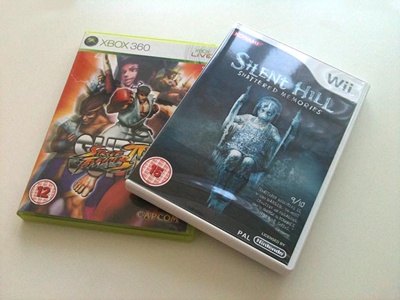 Super Street Fighter and Silent Hill