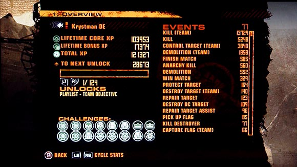 Red Faction Challenges