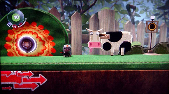 LBP Platformer With Cow