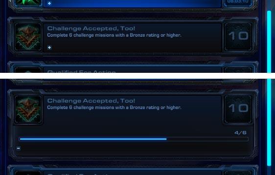 StarCraft 2 Achievement Details