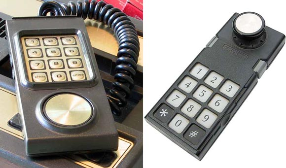 Intellivision and ColecoVision Controllers