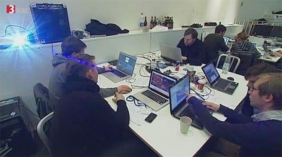 Global Game Jam Cologne on 3Sat