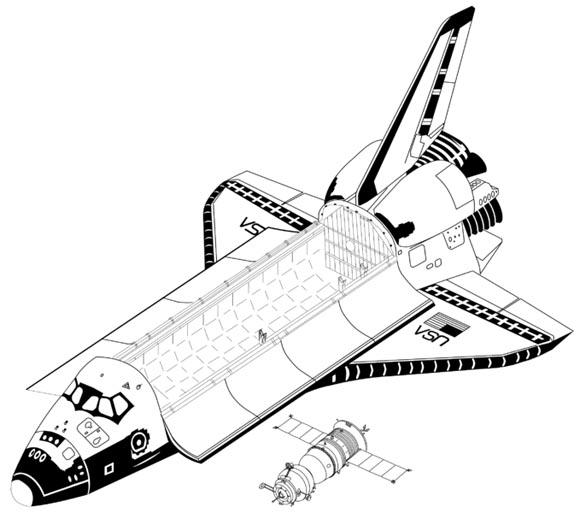 Shuttle vs Soyuz