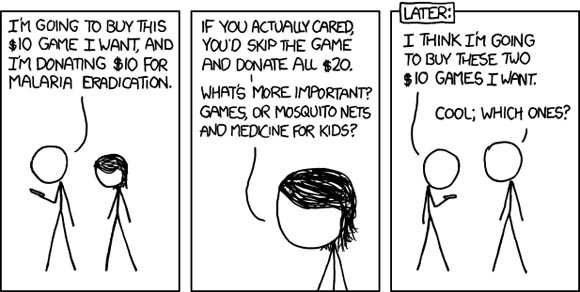 XKCD Charity