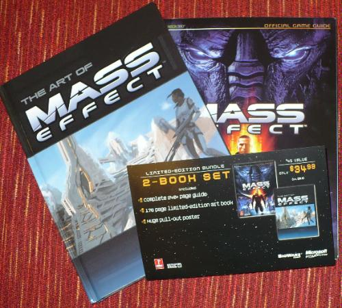 Mass Effect Books
