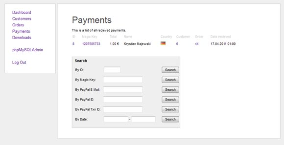 Payment Backend