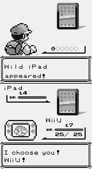 iPad vs WiiU