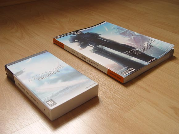 Final Fantasy 7: Crisis Core Artbook and Guide