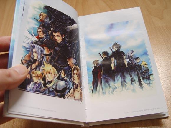 Final Fantasy 7: Crisis Core Artbook 2