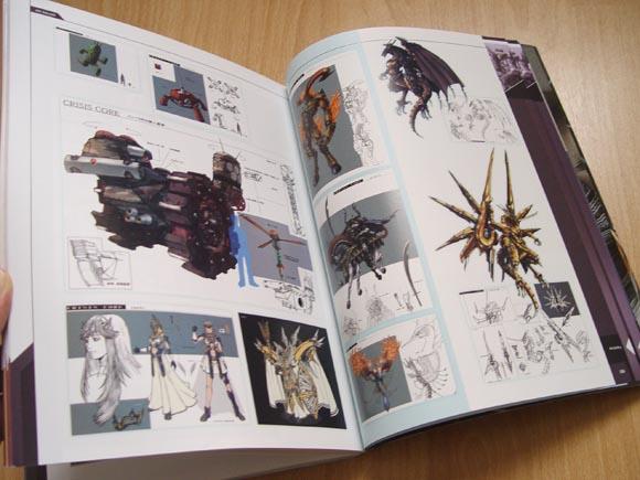 Final Fantasy 7: Crisis Core Guide (Concept Art)