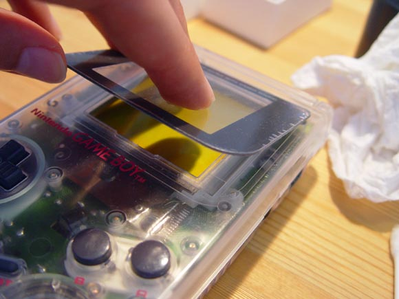 GameBoy Refurbishing - Screen Lens