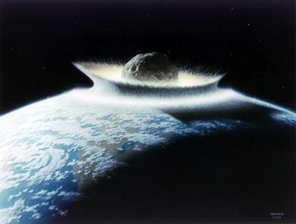 Asteroid Impact by Don Davis