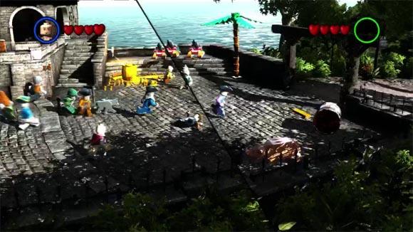 LEGO Pirates of the Caribbean Split-Screen