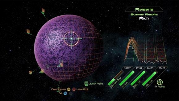 ME2 Planet Scanning