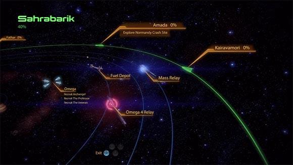 ME2 Galaxy Map