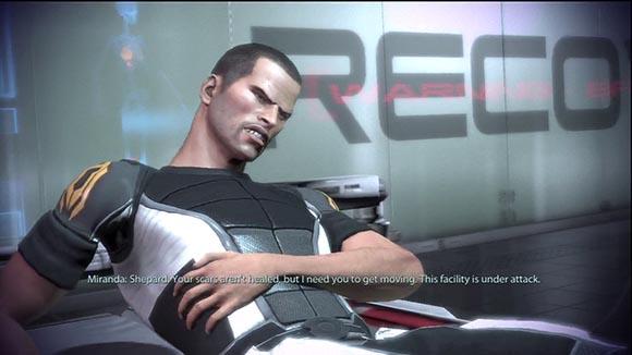 ME2 Shepard Hurt