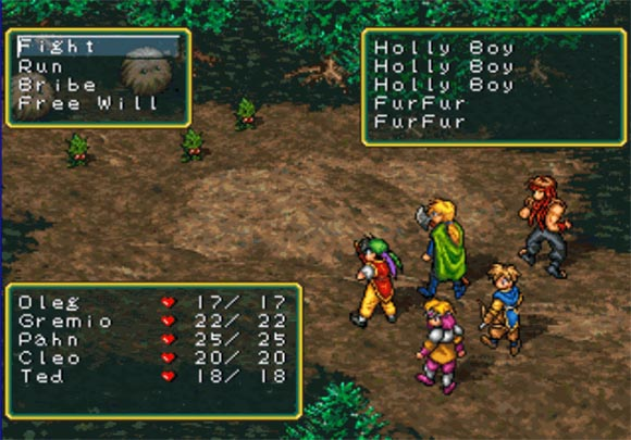 Suikoden - Battle Screen