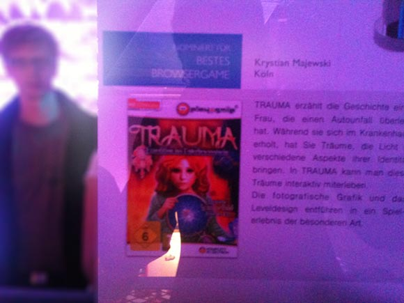 Deutscher Computerspielpreis - Not TRAUMA