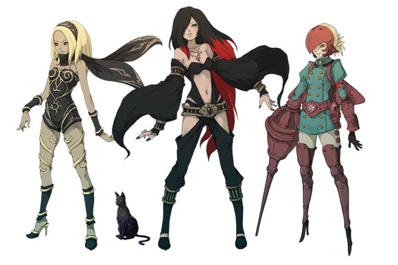 Gravity Rush Girls