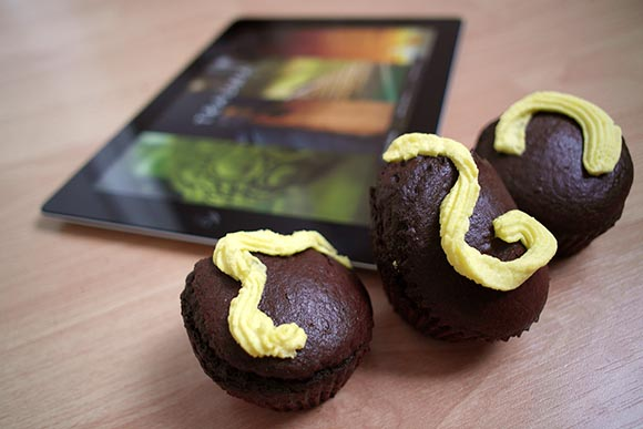 TRAUMA-themed Muffins to celebrate the release