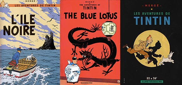Tintin Covers