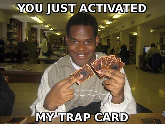 Netrunner - Trap Card