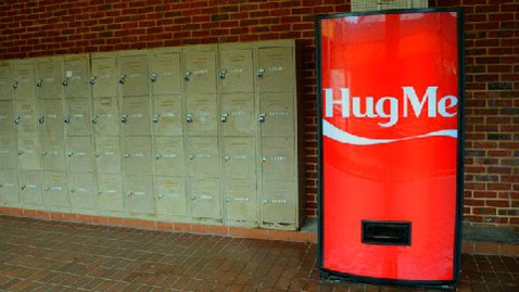 Hug Me Vending Machine