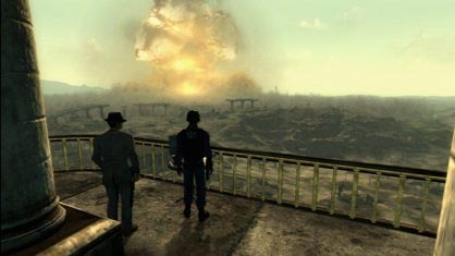 Megaton Explosion in Fallout 3